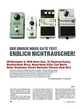 Vergleichstest: Noise Gate Pedale