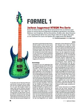 Jackson Juggernaut HT6QM