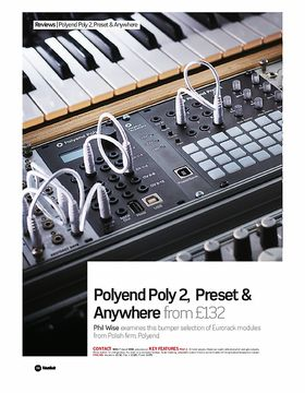 Polyend Poly 2, Preset & Anywhere