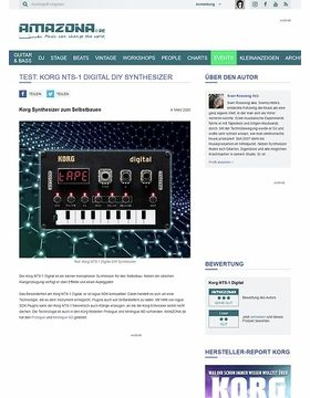 Test: Korg NTS-1 Digital DIY Synthesizer