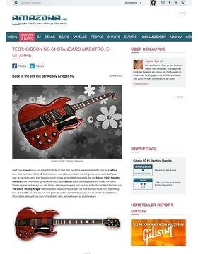 Gibson SG 61 Standard Maestro VC