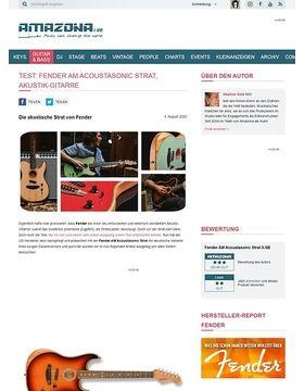 Fender AM Acoustasonic Strat