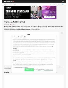 the t.bone MB 7 Beta