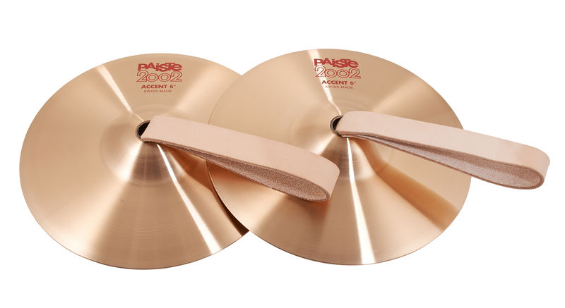 """Paiste 2002 06"""" Accent Cymbal Pair"""
