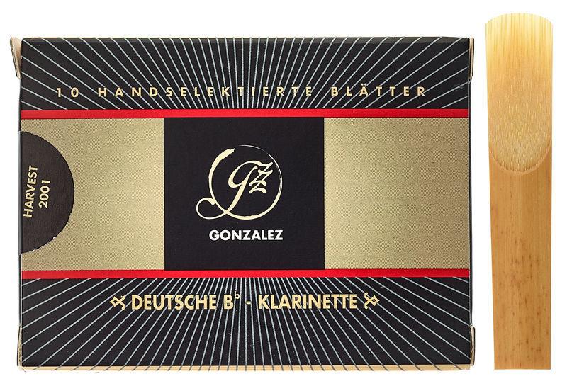 Gonzalez Clarinet Reed German 3.25