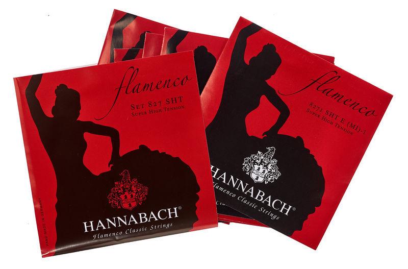 Hannabach 827SHT Flamenco Red