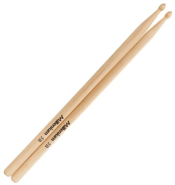 Millenium 5B Maple Drum Sticks -Wood-