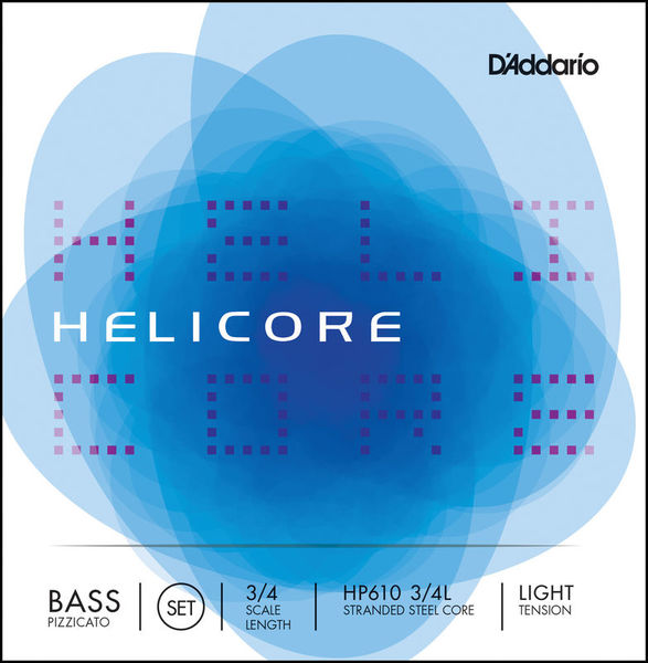 Daddario HP610-3/4L Helicore Bass 3/4