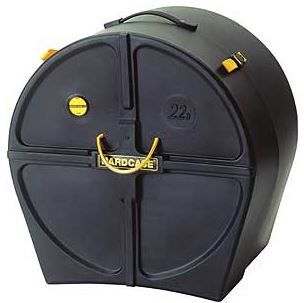 Hardcase HNMB26 Marching Bass Drum Case