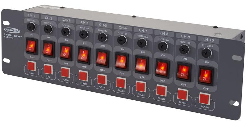 Showtec DJ Switch 10-F