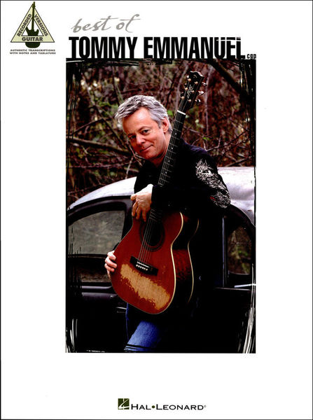Hal Leonard Tommy Emmanuel Best Of Guitar