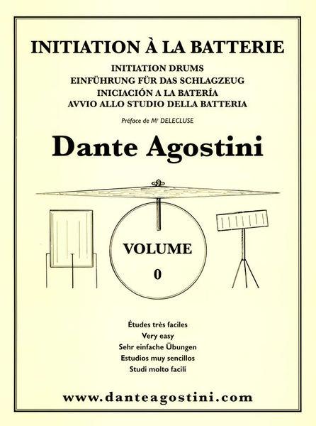 Dante Agostini Méthode De Batterie Vol.0