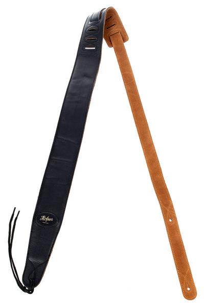 Höfner H65/72BK Leather Strap