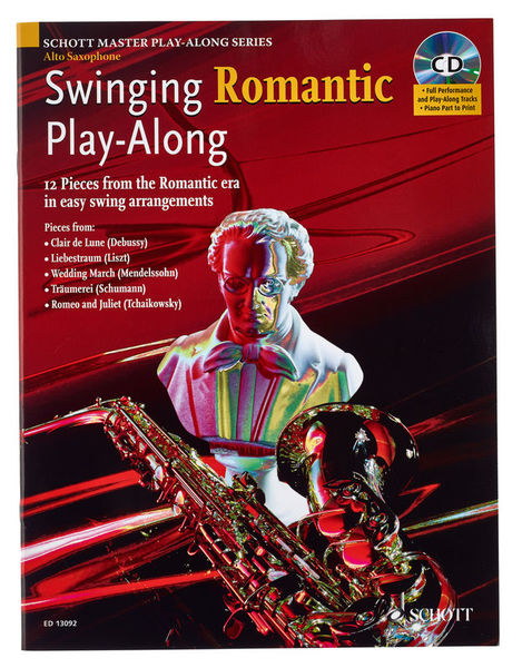 Schott Swinging Romantic Play A-Sax