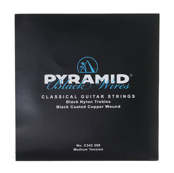 Pyramid Nylon Satz Black Wires