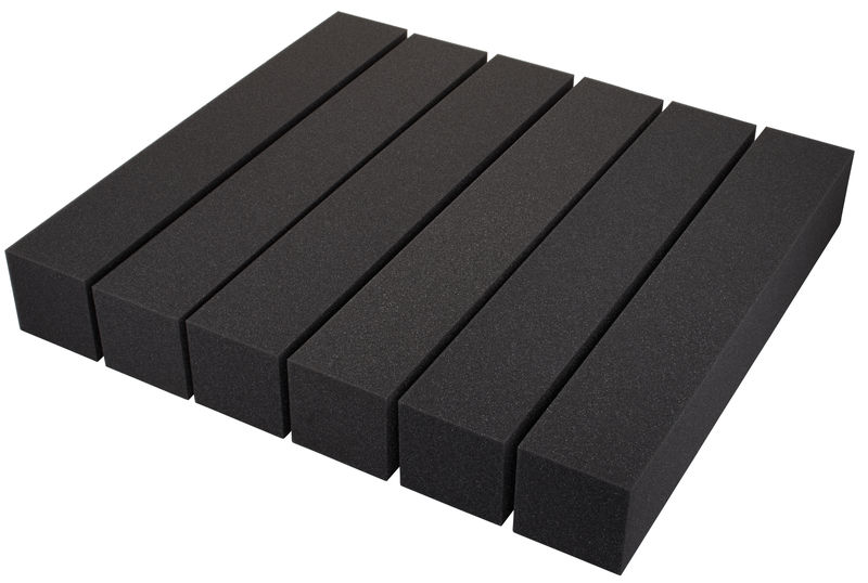 "Auralex Acoustics 4"" CornerFill Set Charcoal"
