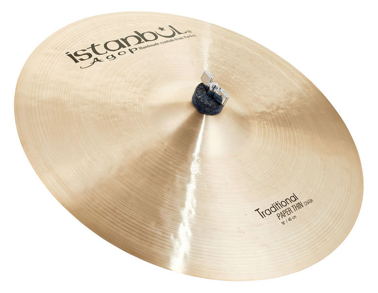 """Istanbul Agop Traditional Pap.Thin Crash 16"""""""
