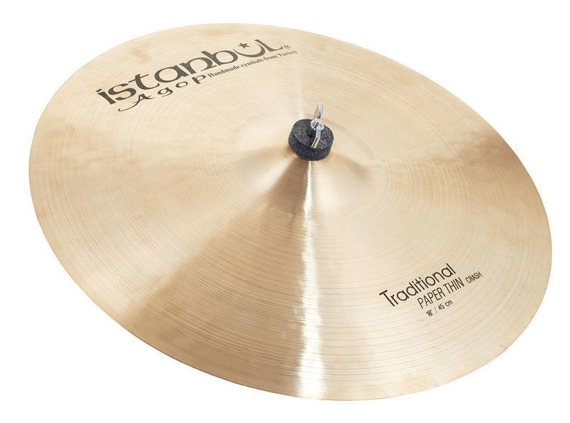 """Istanbul Agop Traditional Pap.Thin Crash 18"""""""