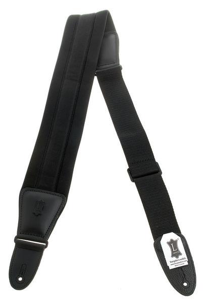 "Levys Ultra Comfort Strap 3,25"" BK"