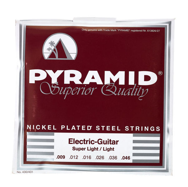 Pyramid Nickel Plated Steel SL/Light