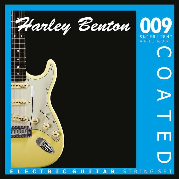 Harley Benton Coated Electric Guitar 009