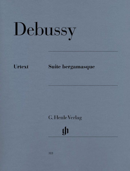 Henle Verlag Debussy Suite bergamasque