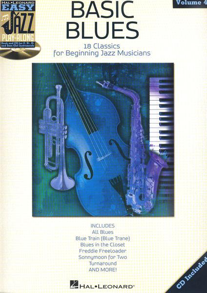 Hal Leonard Easy Basic Blues Play Along