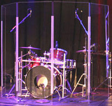 Clearsonic Lite 2466x5 Drum Shield