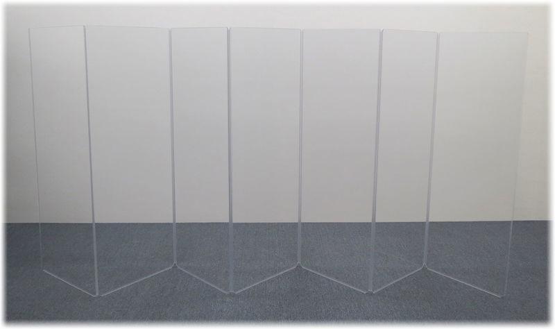Clearsonic A2466x7 (A5-7) Drum Shield