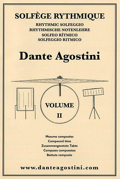 Dante Agostini Solfège Rhythmique 2