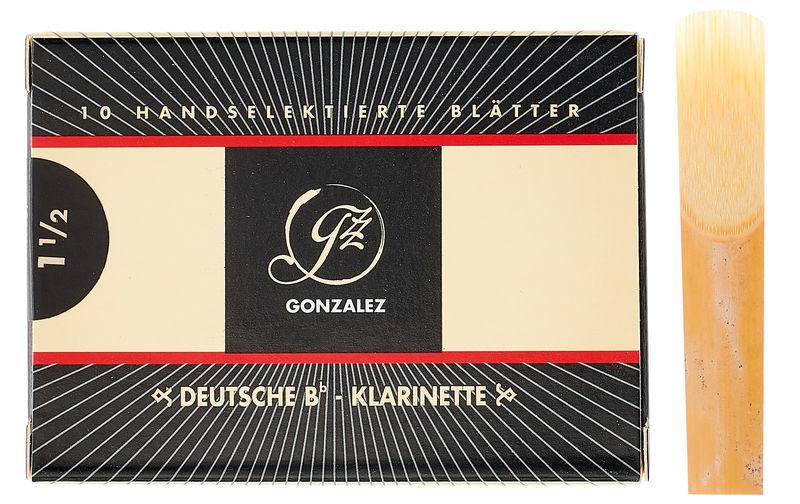 Gonzalez Clarinet Reed German 1.5