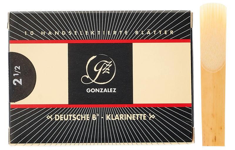 Gonzalez Clarinet Reed German 2.5