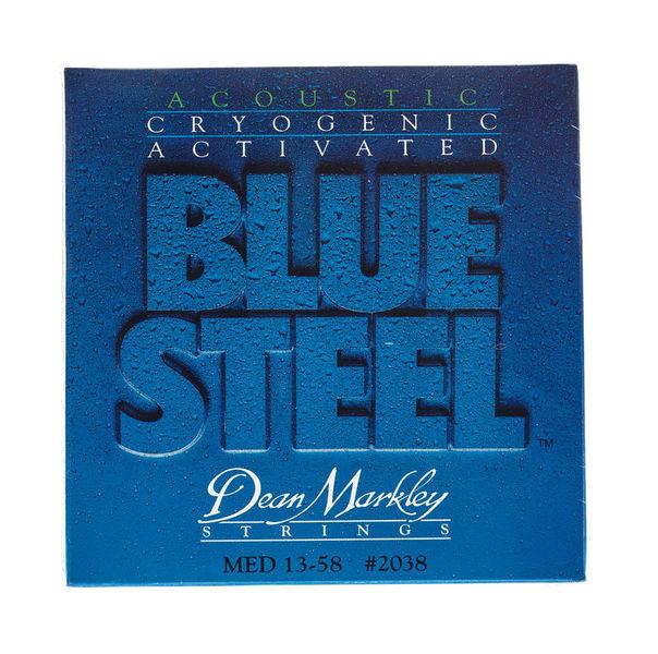 Dean Markley 2038 Blue Steel Acoustic MED