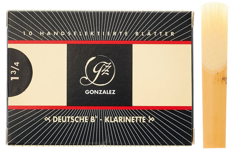 Gonzalez Clarinet Reed German 1.75