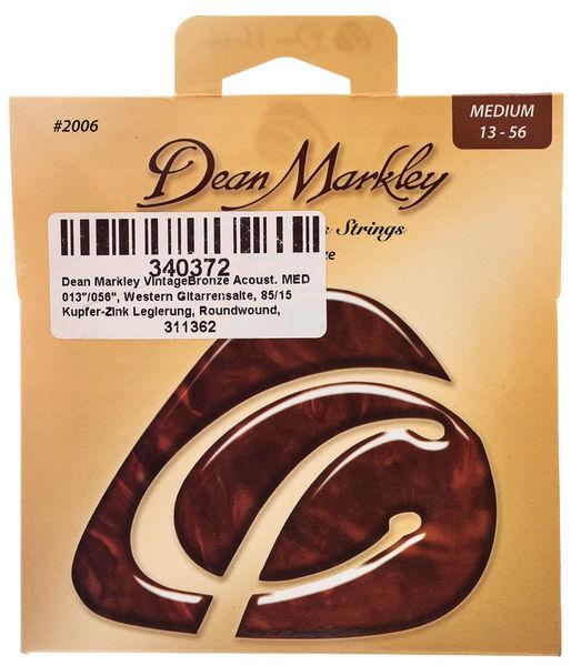 Dean Markley 2006 Vintage Bronze MED