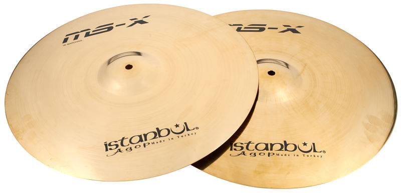 """Istanbul Agop Orchestral Band 18"""" MS-X"""