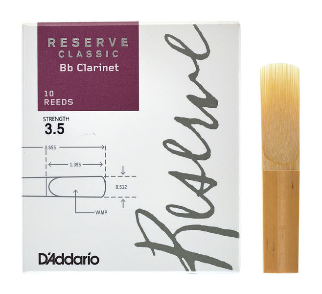 DAddario Woodwinds Reserve Clarinet Classic 3.5