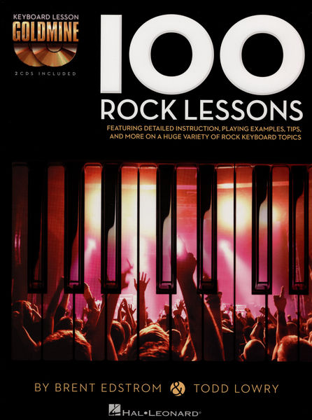 Hal Leonard Keyboard Lesson: 100 Rock