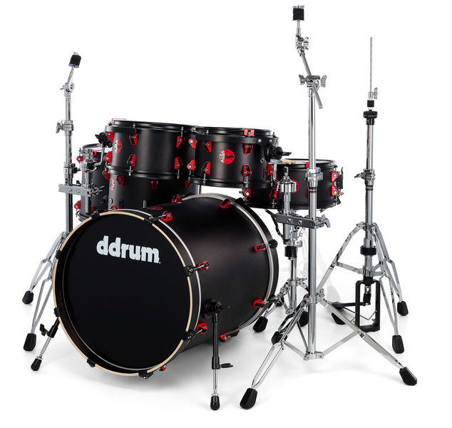 DDrum Hybrid Kit Satin Black Set