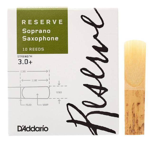 DAddario Woodwinds Reserve Soprano Saxophone 3.0+