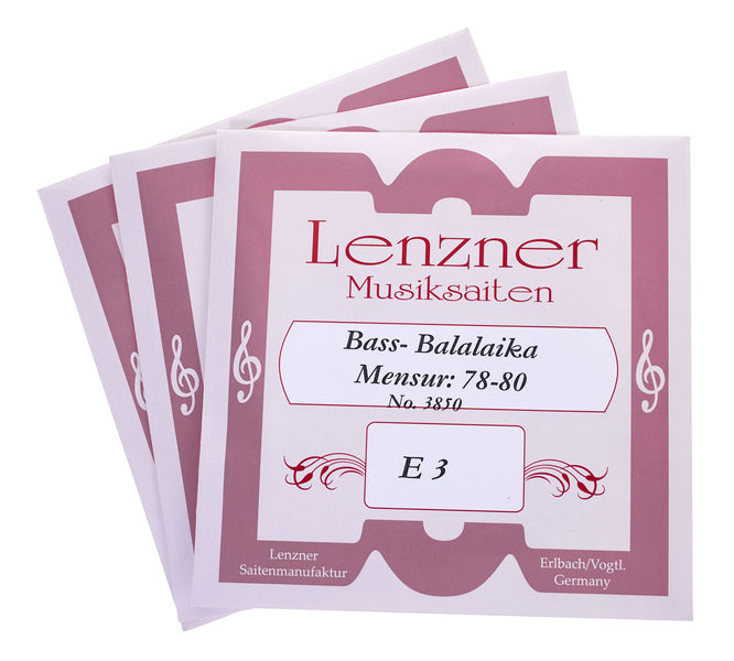 Lenzner 3850 Bass Balalaika Strings