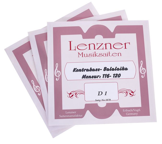 Lenzner 3870 Contrabass Balalaika Str