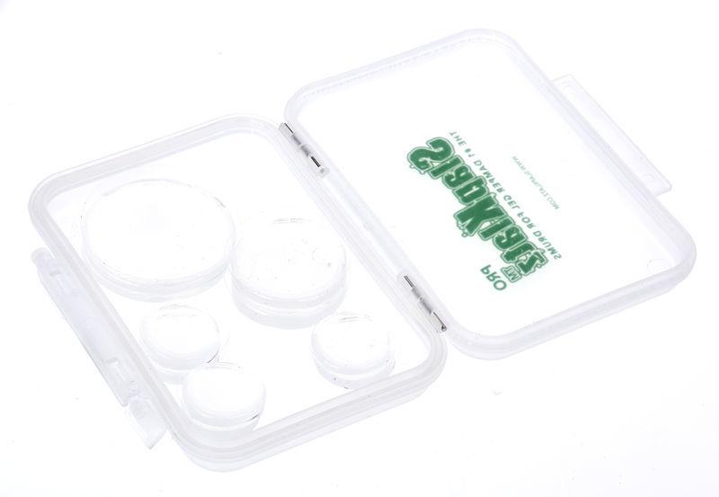 SlapKlatz Gel Pads 10-piece Box clear