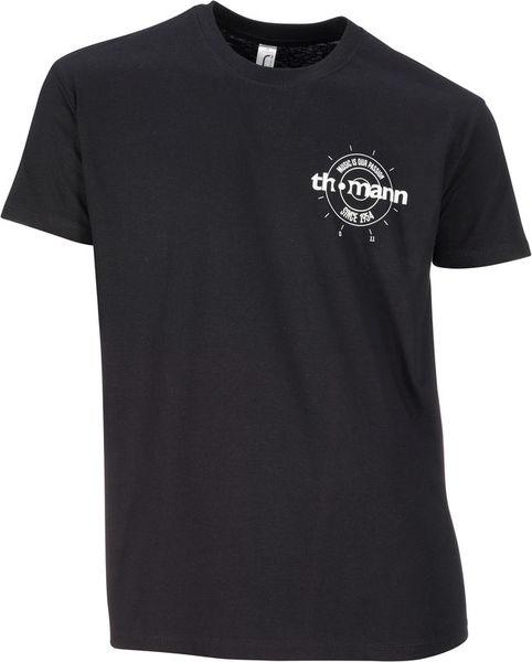 Thomann T-Shirt Black M
