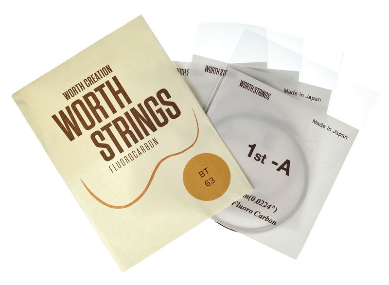 Worth Strings BT Tenor Ukulele Set