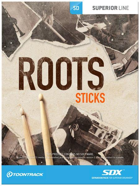 Toontrack SDX Roots-Sticks