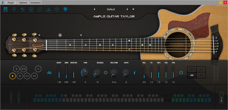 Ample Sound Ample Guitar T III