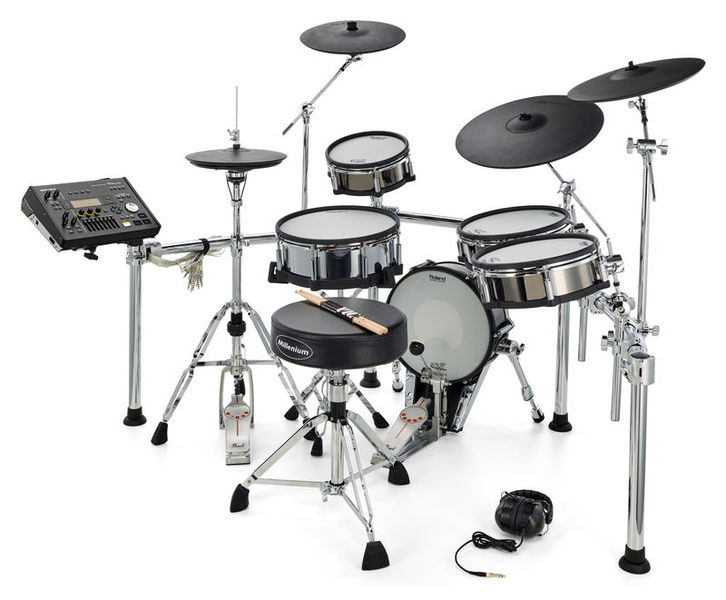 Roland TD-50KV V-Drum Set Bundle