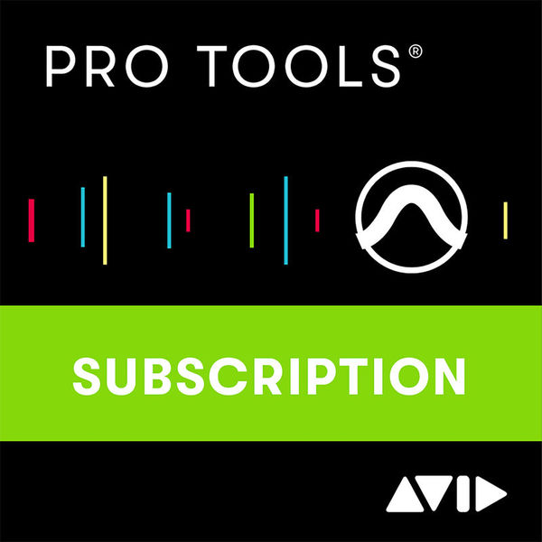 Avid Pro Tools 1Y Subscription