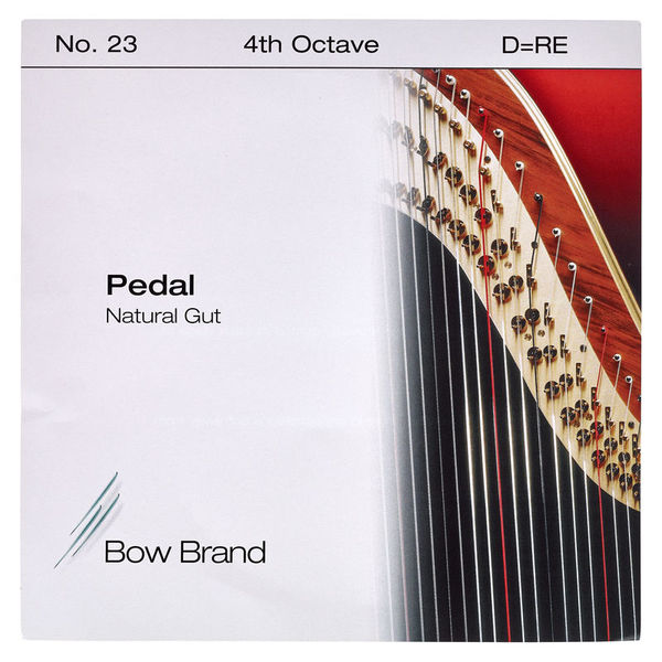 Bow Brand Pedal Natural Gut 4th D No.23